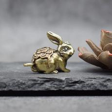Brass, Key Chain, Joyería de pavo reales, personalizedrabbitcarkeychain