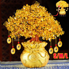 treeornament, Bonsai, Home Decor, gold