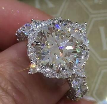 Sterling, DIAMOND, wedding ring, naturalgemstonering