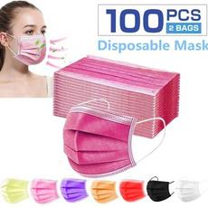 pink, disposablemask, mouthmask, surgicalmask