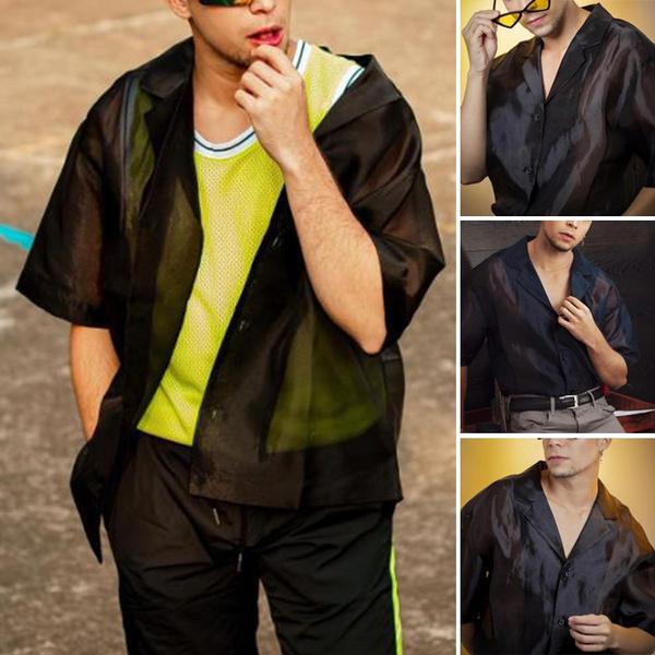 Fashion, Spring, looseblouse, short sleeves