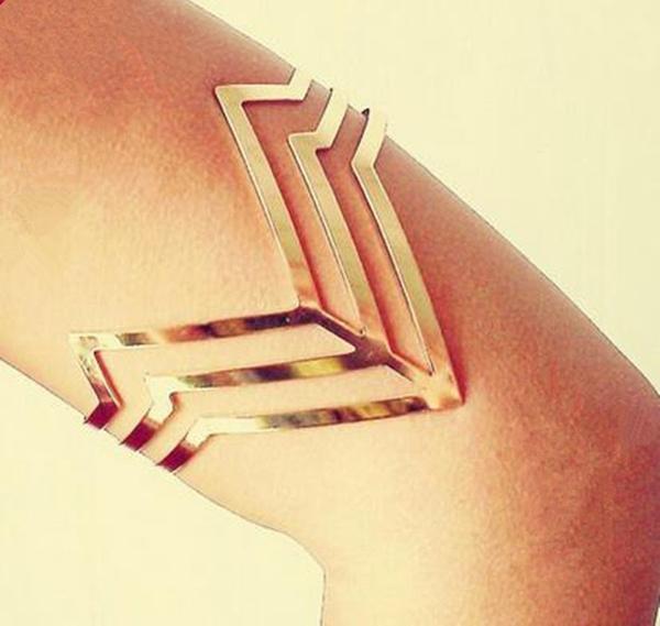 Triangles, Jewelry, arrowbracelet, rockbracelet