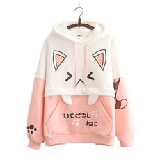 Kawaii, cute, hooded, Winter