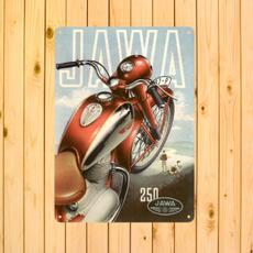 jawamotorcycle, jawa, metaldecoration, metalartdecor