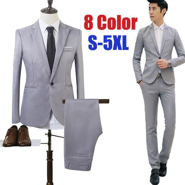 solid color, Suits, manssuit, Men