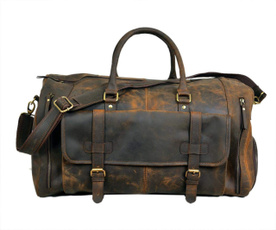 handmadeduffelbag, dufflebag, leatherduffelbag, Luggage