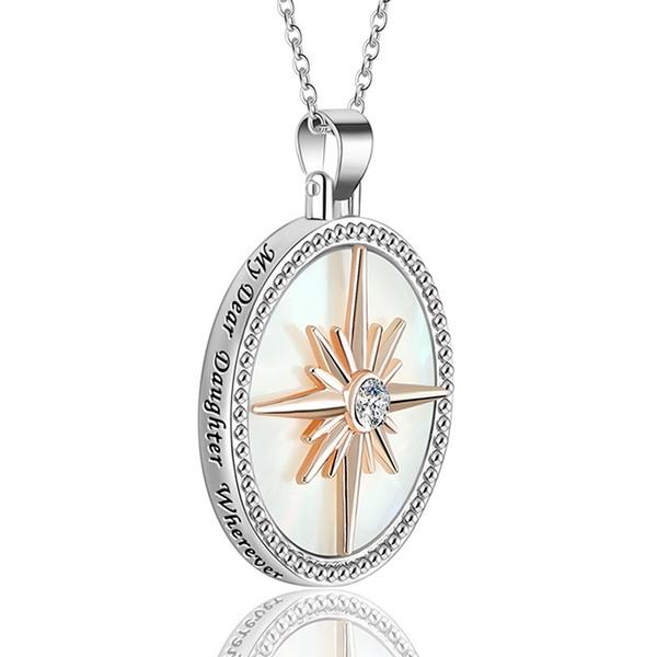 DIAMOND, Jewelry, Gifts, Compass