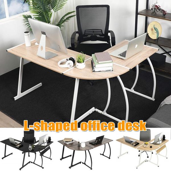 computerdesk, workstation, lshapeddesk, Office