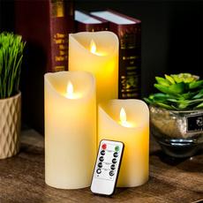 remotecontrolcandle, rechargeablecandlelight, led, Battery