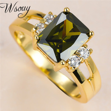 Diamond Ring, party, 18k gold, Jewelry