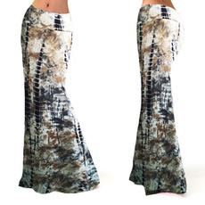 long skirt, bigskirt, Waist, Spring