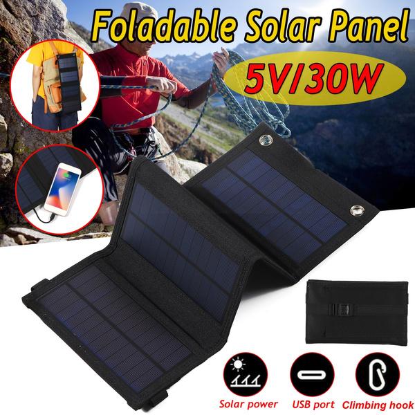 solarfoldingpanel, Outdoor, foldablesolarpanel, usb