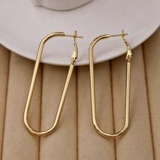 Hoop Earring, Jewelry, gold, gold hoop earrings