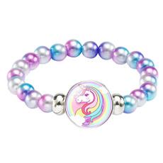 rainbow, for girls, girlsjewelry, Bracelet