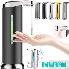 Bathroom, Cleaning Tools, infraredinduction, handwasherdispenser