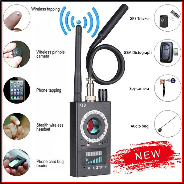 signaldetector, k18detector, jammer, spycameradetector