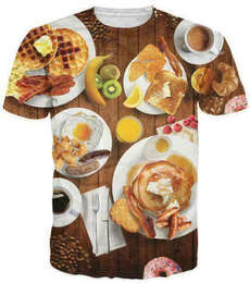 Shorts, Shirt, Sleeve, Food