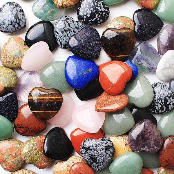 Heart, quartz, Jewelry, Gifts