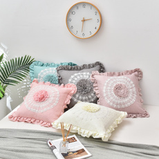 Lace, Cover, sofapillowcover, Pillowcases