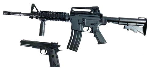 gun, Airsoft Paintball, p9p8p99umarexnbglockg9p88hecklerkoch, black