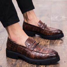 Outdoor, leather, zapato, Men's Fashion