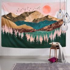 Mountain, Nature, Wall, Tree