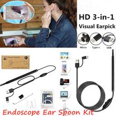 usb, earcleaningendoscope, Photography, endoscope