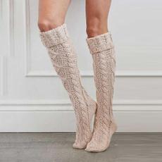 knitted, thigh, Winter, de