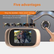 Door, viewer, Screen, doorbell