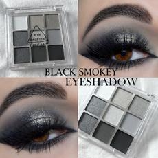 toned, Palette, eye, Beauty