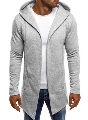 hooded, Sleeve, Long Sleeve, Coat