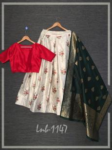 Bollywood, lehengacholi, woman dress, Dresses