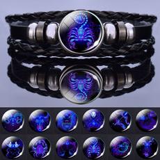 Jewelry, 12constellationjewelry, Bracelet, weavebracelet