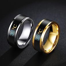 Steel, smartring, Jewelry, Waterproof