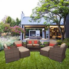wickersofa, outdoorfurniture, Outdoor, Garden