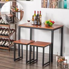 diningroomset, Simple, wooddiningtable, Modern