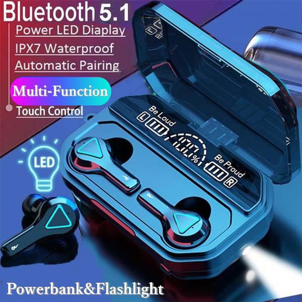 Flashlight, Headset, Sport, Earphone