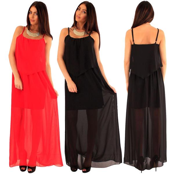 Women's Fashion, Dress, Red, Women