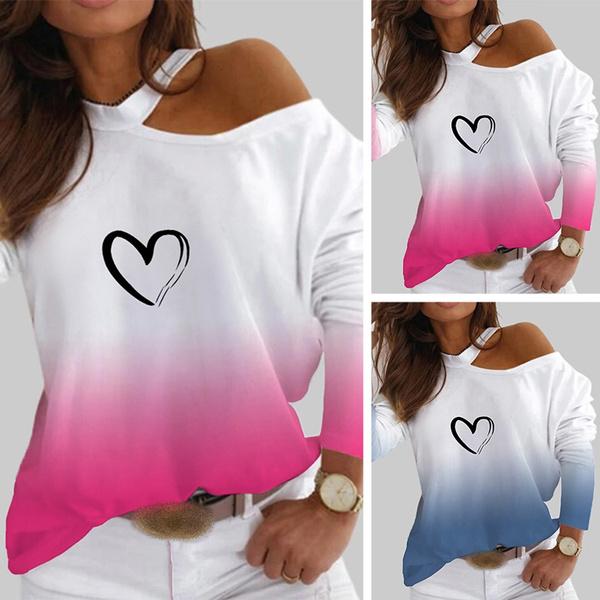 printedtop, blouse women, Tops & Blouses, Sleeve
