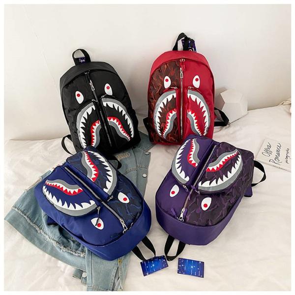 bapeshark, Shark, sharkbag, Backpacks