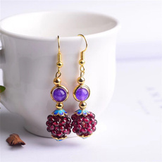 Jewelry, garnetjewelry, garnet, Earing