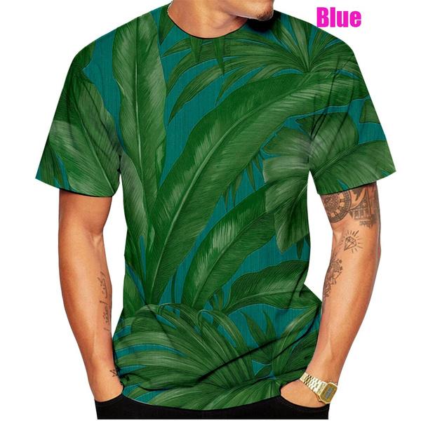 Mens T Shirt, Fashion, Shirt, Hawaiian