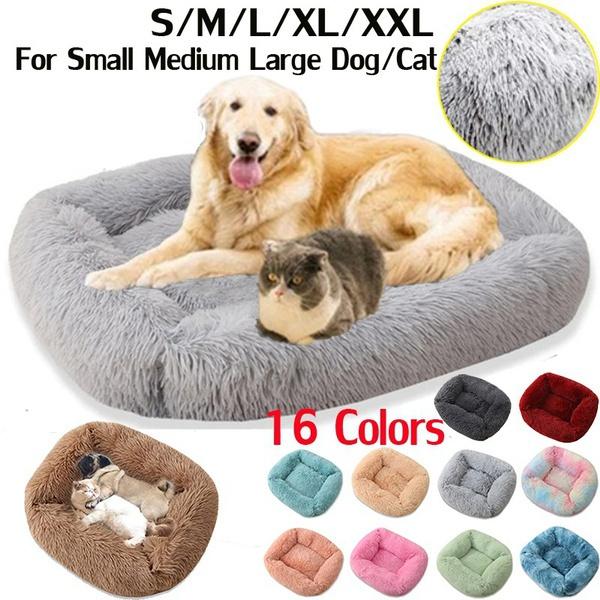 Medium, velvet, alargedogbed, dog houses