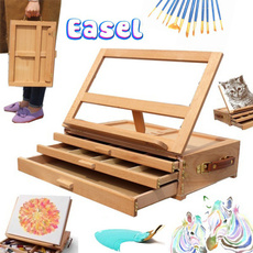 drawingsupplie, Box, easel, sketchboard