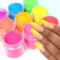 nail decoration, nailphosphor, nailsugarpowder, uv