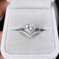 Beautiful, Heart, DIAMOND, Wedding Accessories