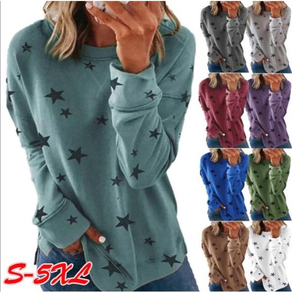 Plus Size, Tops & Blouses, Sleeve, Women Blouse