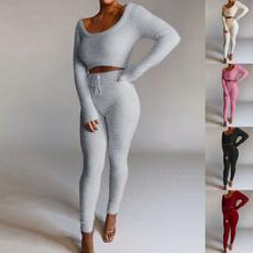 Women Pants, sportswearset, Fashion, Shirt