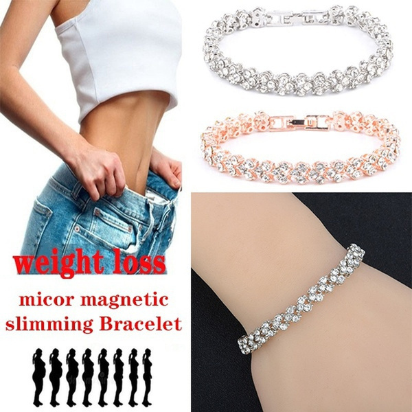 weightlossbracelet, Fashion, gold, Crystal