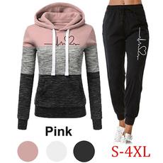 sportsuitswomen, Fashion, Hoodies, Sleeve